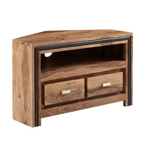 Jaipur Rosewood Corner TV Unit